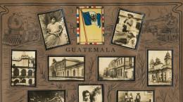 Guatemala  Cartel De 13 Pequenas Fotos Propaganda Tabacalera Cubana Cuba  Bandera Antigua Aduana India - Guatemala