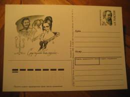 TOLSTOI Tolstoy Novelist Playwright Essayist Writer Literature RUSSIA Postal Stationery Card - Schrijvers