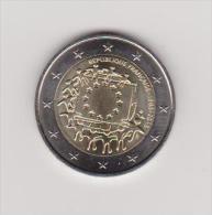 2€ Commémorative *** FRANCE 2015 ***  30 ANS DU DRAPEAU  Superbe Non Circulée - France