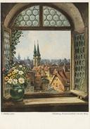 CPM Nürnberg, Fensterausblick Von Der Burg - L. Möbler Pinx - Paintings