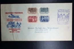Nederland  NVPH 592 - 575 Op ITEP Envelop Eerste Dag Van Uitgifte 28 Juni 1952 Beschreven Open Flap - FDC