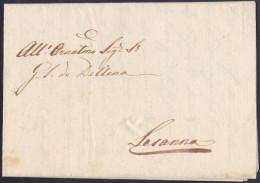 Prephilatelic Letter, Without Cancellation, From Fiume (Rijeka) To Sežana, 1816 - ...-1850 Vorphilatelie