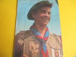 Calendrier Mural De 20 Pages/ Scouts De France/ Bd Montmorency/Paris 16éme/Déchaux/Lang/1956   CAL328 - Calendriers