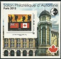 Bloc CNEP Adhésif  N° 70 Salon Du Timbre Paris 2015 - CNEP