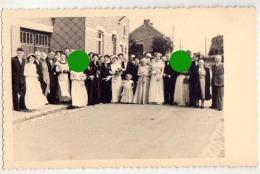 Carte Photo à Localiser Vers 1950 Mariage Peut-être à LINCENT ?? - Lincent