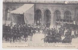 BRUXELLES  VISITE DE L'EMPEREUR ET DE L'IMPERATRICE D'ALLEMAGNE AUX SOUVERAINS BELGES - Manifestations