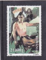 # 180  TARZAN, JOHNNY WEISSMULLER,CINEMA, 2004, Mi 5835, MNH**, ROMANIA - 1948-.... Repubbliche