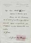 Sur Lettre 2x 5 Cts Marco Da Bollo - 1900-44 Victor Emmanuel III.