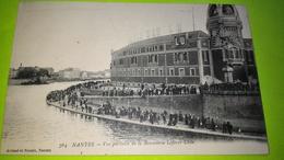 NANTES CPA - Carte Postale Ancienne - Usine Tours Lefèvre Utile - Biscuits LU - 1916 - Animé /17 - Nantes