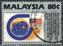 MALESIA - 1990 -  CONFERENZA SULLA COOPERAZIONE IN MALESIA - USATO - Malesia (1964-...)
