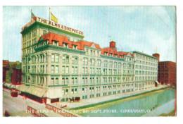 T47 Cpa  CINCINNATI  : 1909 , The Alms & Doepke CO , Big Dept , Store  , 2 SCANS - Cincinnati
