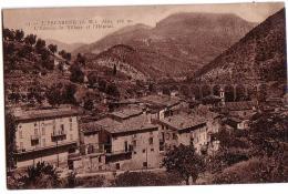 L´Escarène: L'entrée Du Village Et L'Hôpital - L'Escarène