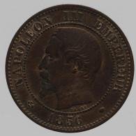 Napoléon III - 2 Centimes - 1856 MA - B. 2 Centimes