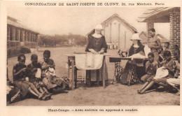 ¤¤  -   HAUT-CONGO  -  Avec Entrain On Apprend La Couture  -  Machine à Coudre  -  Religieuses     -  ¤¤ - Congo - Kinshasa (ex Zaire)