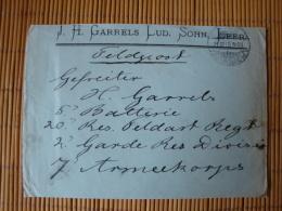 Firmenbrief J.H. Garrells Lud. Sohn, Leer I. Ostfriesland, Gelaufen 1915 ! - Briefe U. Dokumente