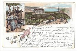 15483 - Gruss Vom Verliberg Zürich Litho - ZH Zurich
