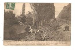 CPA Chemins De Fer 37 - SAVONNIERES - Déraillement Du Train Rapide N°7 (Paris-Nantes-Le Croisic) - 21 Juillet 1908 - Chemins De Fer