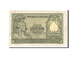 Italie, 50 Lire, 1951, KM:91a, 1951-12-31, TB - [ 2] 1946-… : Repubblica