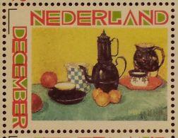 Persoonlijke December Postzegel D12c Mobiele OKI Printer Postaumaat 2013 Vincent Van Gogh Table D´Hotes - Niederlande