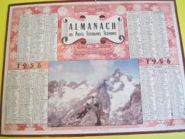 Almanach Des Postes Télégraphes Téléphones /Massif De La Meije En Oisans/Seine & Oise/Oller/Paris/1956   CAL331 - Big : 1941-60