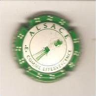 CAPSULE DE MUSELET MOUSSEUX CREMANT D'ALSACE E COMME EFFERVESCENCE - Schaumwein - Sekt