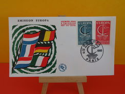 FDC - Europa CEPT - Paris - 24.9.1966 - 1er Jour, Coté 2 € - Europa-CEPT