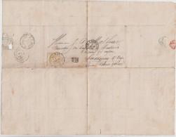 BELGIQUE - 30 Seul Sur Lettre - 1869-1883 Leopold II