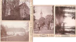 (Allemagne) - LINDOW IN DER MARK - Lot 4 PHOTOS 19è Siècle (vers 1895), Foto.Kietzer Vorm.Ratkowsky Neu-Ruppin Neuruppin - Lindow