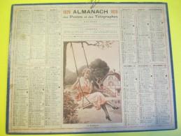 Almanach Des Postes Télégraphes /La Balançoire/Dépt ?/Imprimeur ? /1926     CAL337 - Calendriers