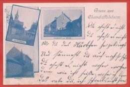 67 - GRUSS Aus OBERSCHÄFFOLSHEIM - OBERSCHAEFFOLSHEIM - Synagoge - Synagogue - Judaica - 3 Scans - Non Classificati