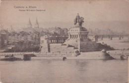 Germany Koblenz Kaiser Wilhelm Denkmal