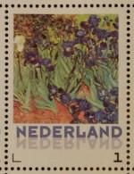 Persoonlijke Postzegel B13 Gegomd Mobiele OKI531 Printer Postaumaat 2013 NIEUW!! Vincent Van Gogh Irises - Netherlands