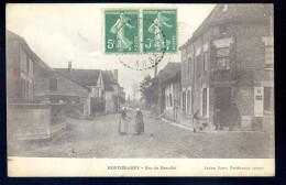 Cpa   Du 10   Montiéramey Rue Du  Mesnilot LIOB104 - Non Classés