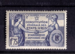 N*  357  NEUF** - France