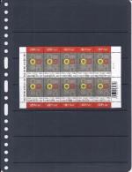 Belgie - Belgique 3539 Velletje Van 10 Postfris - Feuillet De 10 Timbres Neufs  -  Sport : 100 Jaar BOIC - 100 Ans COIB - Feuilles Complètes