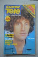 SUPER  TELE N° 66 De 1980-Alain Souchon  En Couverture - Télévision