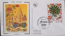 Enveloppe FDC 1er JOUR 2003 - Emission Commune - France - Inde - Paris Le 29.11.2003 - Parfait Etat - FDC