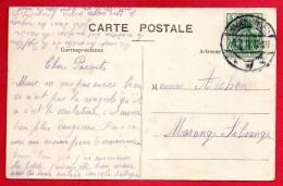 Cachet  Hagendingen ( Hagondange)  Du 17.12.1912 Sur CP Les Cadeaux De Noël - Alsace Lorraine