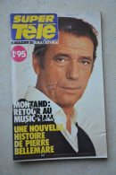 SUPER  TELE N° 52 De 1980-Montand  En Couverture - Télévision