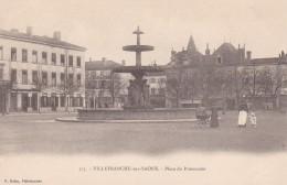 26u - 69 - Villefranche-sur-Saône - Rhône - Place Du Promenoir - N° 173 - Villefranche-sur-Saone
