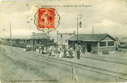 St Quay Portrieux  Arrivée Du Train De Guingamp - Saint-Quay-Portrieux