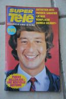 SUPER  TELE N° 54 De 1980-Patrick Sabatier  En Couverture(bas Est Mal Massicote Sur Une Partie D'origine) - Télévision