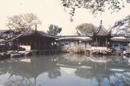 CHINE---SUZHOU CHINA---fisherman's Garden---voir  2 Scans - Chine