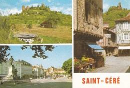 46----SAINT CERE---multi-vues---voir  2 Scans - Saint-Céré