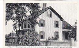 Michigan Dearborn Sally Jordan Boarding House of Menlo Park Curt