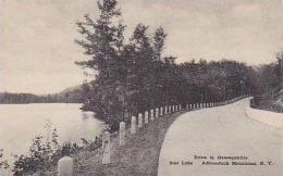 New York Adirondack Mountains Drive to Oswegatchie Star Lake Alb