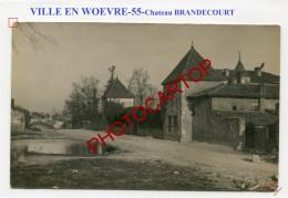 VILLE EN WOEVRE-Chateau BRANDECOURT-CARTE PHOTO Allemande-Guerre 14-18-1 WK-France-55- - France