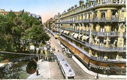 Toulouse. La Rue D´Alsace-Lorraine Et Le Square Du Capitole. - Toulouse