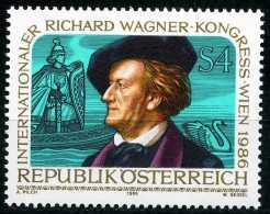 Österreich - Michel  1849 - ** Postfrisch (B) - Richard-Wagner-Kongreß - 1945-.... 2ª República