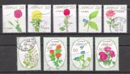 Japon  - Flore - Lot 433 - Oblitérés - Usati